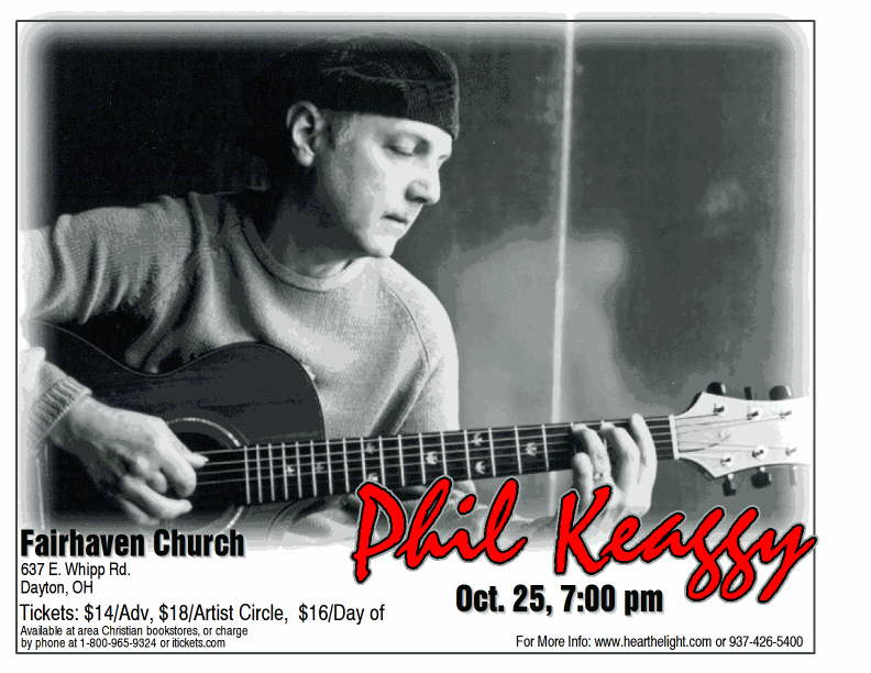 Phil Keaggy In Concert At Fairhaven Church Dayton Oh